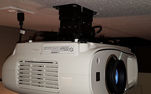 (Epson Home Cinema 3700/3500/3000/3600 Projector Mount with Optional Extension Pole by Vega A/V Systems)