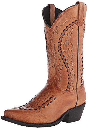 Laredo Men's Laramie Western Boot, Tan, 9.5 D US (Man Boots For Sale)
