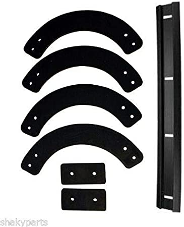 13167 PADDLE SCRAPER SET SNOWBLOWER 753-04472 735-04033 735-04032
