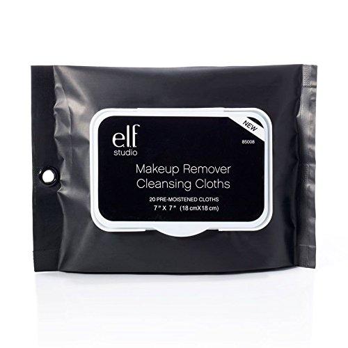 (3 Pack) e.l.f. Studio Makeup Remover Cleansing Cloths - EF85008