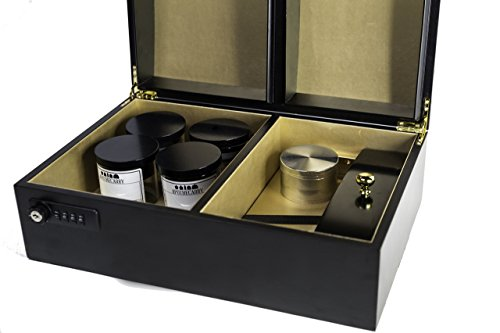 Classic Apothecarry Case - Luxury & Secure Herb Storage Case For The Connoisseur- FULL KIT by Apothecarry Brands