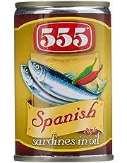 555 Sardines In Oil Spanish Style - 155 gm