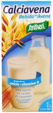 Santiveri Bebida Avena Calciavena 1 Litro Envase De 1 Litro 100 g: Amazon.es: Alimentación y bebidas