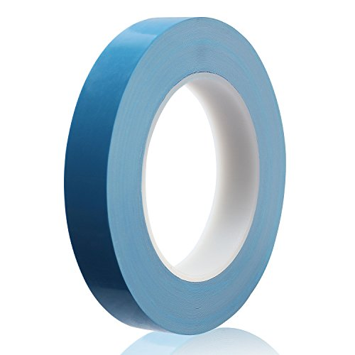 Ceatech 20mm x 25m Thermal Conductive Tape Dual-sided Adhesive Professional Cooling Tape for Heatsink LED, IC Chip-set, Computer CPU GPU,Modules, SSD Drives
