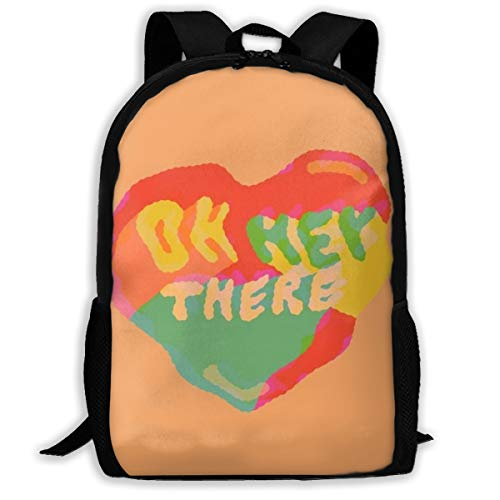 OWZI Oh Hey There Adult Full-Length Printed Backpack 6.3