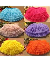 Solid Color Basic Tutu for Toddlers and Girls - 6 Colors Available!