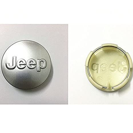 Type2 With Automelody gift Bag Automelody 4pcs 2 1//2 Inches A Set Of Wheel Center Caps Hubcap For Jeep Compass Gr.Cherokee Patriot Wrangler