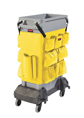 Rubbermaid Commercial Products 2032951 Slim Jim Caddy Bag for 23 gal, Yellow by Rubbermaid Commercial Products (Image #2)