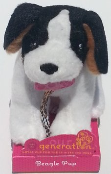 Our Generation PLUSH PUP TOY (BEAGLE)