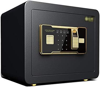 LJJL Caja fuerte Las Cajas Fuertes, La Huella Digital Y La Contraseña/Llave Se Abren Simultáneamente For El Hogar, La Oficina, Ingrese A La Pared O Al Gabinete 25 Cm / 30 Cm