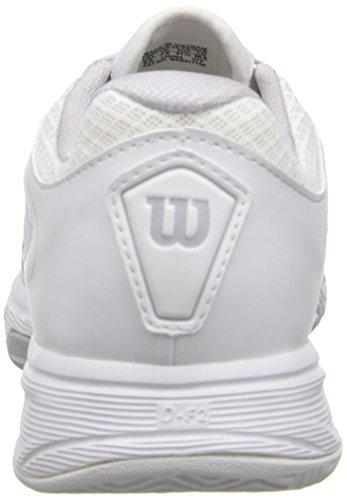 Wilson Women`s Jag 2 Tennissko Hvit Og Grå-(wrs317750-s14)