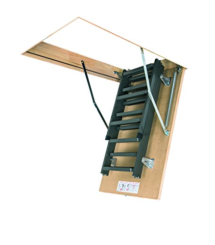 FAKRO LMS 66865 Insulated Steel Attic Ladder For 22 Inch X 47 Inch Rough  Openings   Dock Ladders   Amazon.com