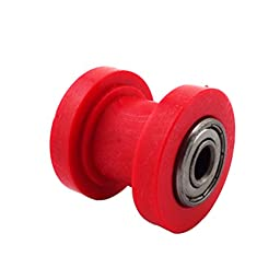 XLJOY 8mm Chain Roller Pulley Tensioner For Pit Dirt Bike SDG DHZ Pitsterpro SSR TTR