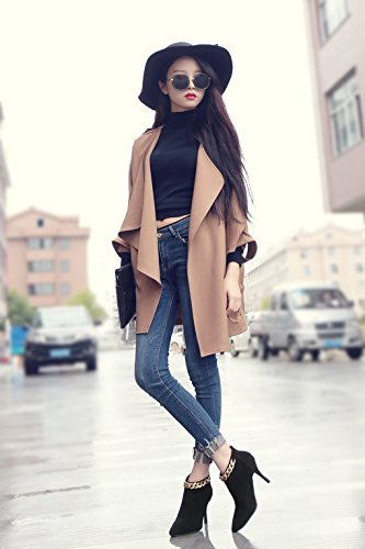 Short Pointed Boots High Sexy High 1 Fashion Slim Boots Bare Winter Heels Heel Autumn Female and pSBWBv