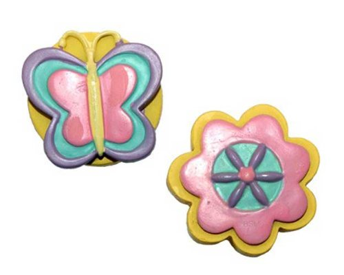Garden Drawer Pulls - Butterfly Garden Drawer Pulls by Borders Unlimited