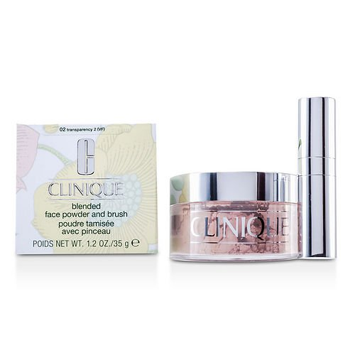 CLINIQUE by Clinique Blended Face Powder + Brush - No. 02 Transparency Premium --35g/1.2oz for WOMEN ---(Package Of 6)