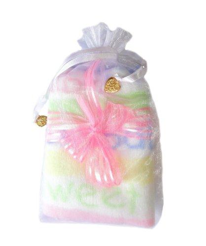 Jacqui's Unisex Baby Miracle Baby - Keepsake Receiving Blanket, Light Pink Bow