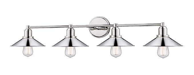 Amazon.com: Baño Vanity 4 - Lámpara de techo con acabado en ...