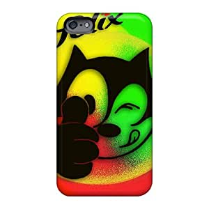 Shock-Absorbing Hard Cell-phone Cases For Apple Iphone 6s Plus (OlX2671ATtS) Custom High Resolution Felix The Cat Pictures