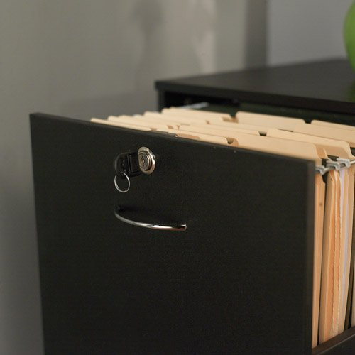 Simple Living Wilson Filing 4-drawer Cabinet Espresso
