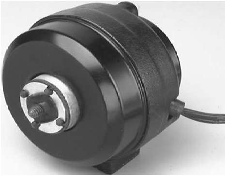 Mars 15411 Mars-2 9 Watt, 115v, Clockwise Rotation Cast Iron Unit Bearing Motor from Mars Motors