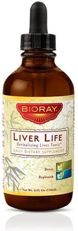 Bioray Liver Detoxifier Herbal Supplement - Liver Life May Increase Metabolism and Energy Levels - Improves Detox and Nutrient Absorption - Promotes Balanced Hormones and more | 4 fl oz