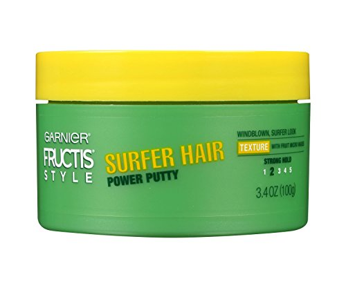 Garnier Fructis Style Surfer Hair Power Putty, 3.4 Ounce (Pack of -