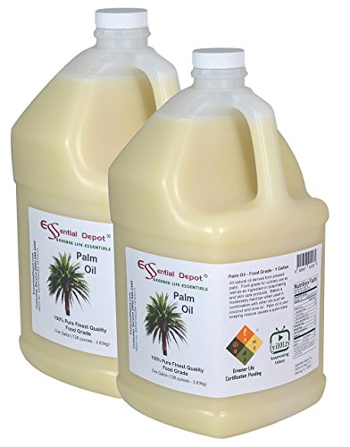 Palm Oil - Food Safe - 2 Gallons by Essential Depot (Image #1)