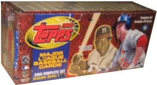 2000 Topps Factory Baseball Card Set Unopened Box