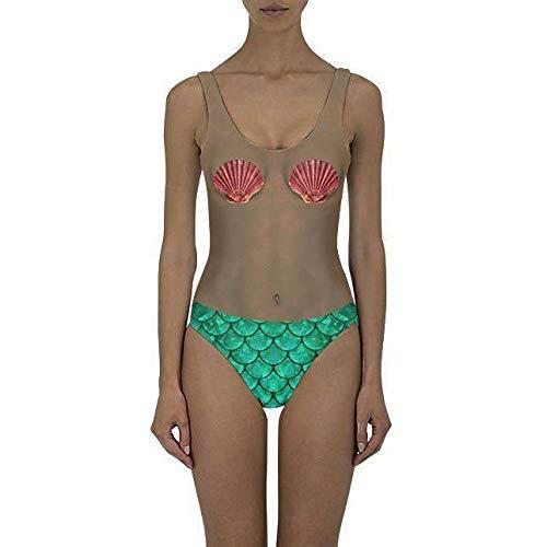 Beloved Shirts Mermaid Girl Dark One Piece Swimsuit