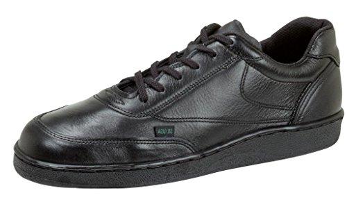 Thorogood Men Code 3 Black Non Slip Service Oxford Work Uniform Shoe- 11 ()