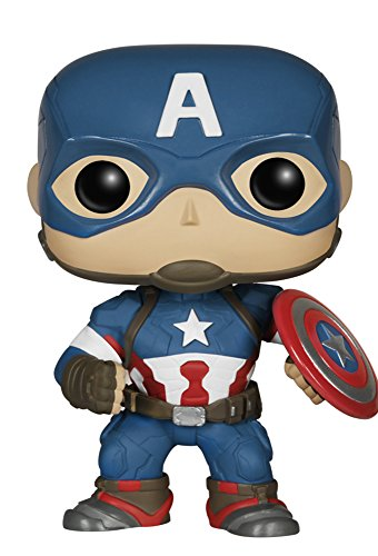 Captain+America Products : Funko POP Marvel Avengers 2: Captain America