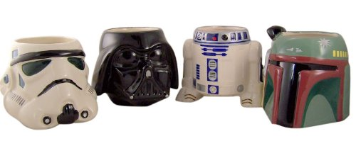 Star Wars Collectible Mug Set of 4