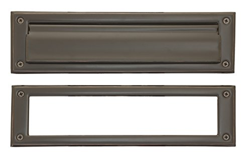 (BRASS Accents A07-M0070-613VB Mail Slot, 3