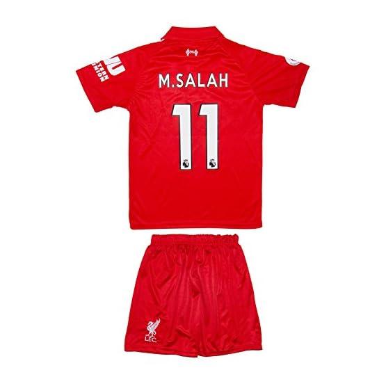 SVB Liverpool 2017/18Heim # 11Salah-Maillot pour Enfant et Pantalon