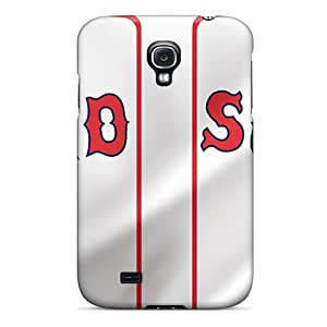 High Quality Jamiemobile2003 Boston Red Sox Skin Cases Covers Specially Designed For Galaxy - S4