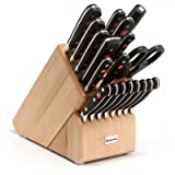 Wusthof Classic 20-Piece Knife Set with Block For Sale