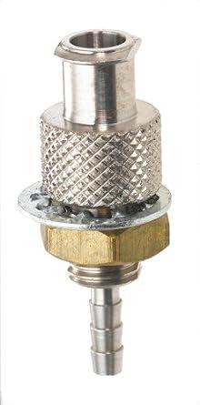 Luer 316 - Juego de 5 adaptadores hembra para tubo de 3/32 ...