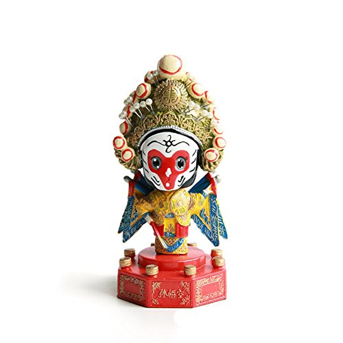 Opera Bobble Head (Beijing Opera Bobblehead China Style Souvenir (The Monkey King))