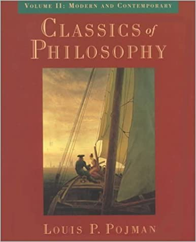 Book Classics of Philosophy: Volume II: Modern and Contemporary (Classics of Philosophy) (1997-10-02)