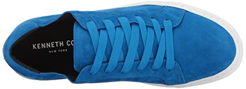 up Kam Fashion womens Suede Cole Lagoon Sneaker Kenneth New Low York Blue Lace Top xgI14