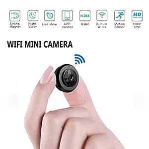 Hidden CAM 1080P HD, Mini cámara espía y visión Nocturna y detección de Movimiento,