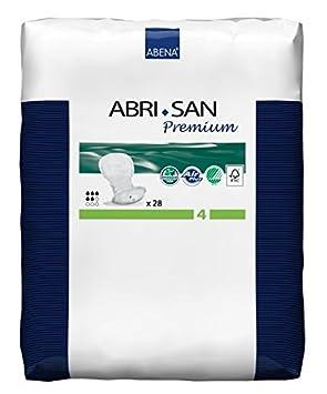 NRS Healthcare Abena Arbi-San Premium - Protectores para incontinencia moderada, 266 ml, 28 unidades: Amazon.es: Salud y cuidado personal