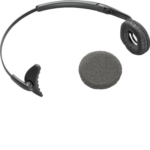 Plantronics 66735-01 Uniband CS50 Headband with ear Cushion for CS50 (Replacement Plantronics Headband)