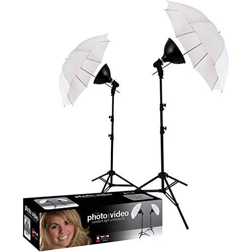 (Photo Basics 406 uLite 2 Light Umbrella Kit)