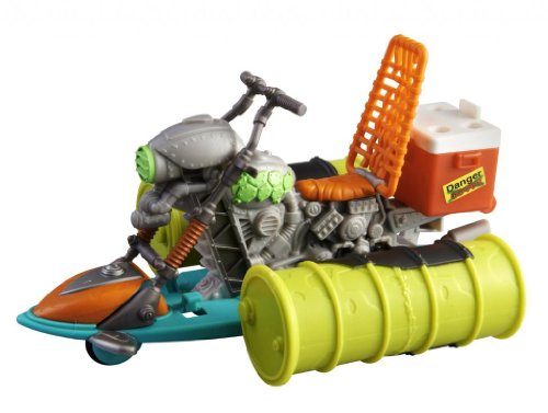Toy / Game Teenage Mutant Ninja Turtles Mutagen Ooze Sewer Cruiser With Slick Defense System (Ages 4+)