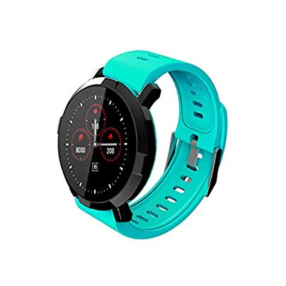 KUNCC Fitness Tracker Smart Bracelet M29 Waterproof Activity Tracker With Heart Rate Monitor Color Touch Screen Smart Bracelet Step Counter Wristband Pedometer Watch Female Men For Android IOS Estimated Price £46.49 -