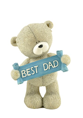 Collectible Teddy Bear Figurine - Fathers day gifts ENNAS Resin Hand-Crafted Best Gifts for Dad Teddy Bear Figurine Collectible