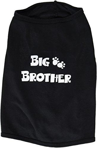 Doggie Tank Top, Big Brother, Black, Large