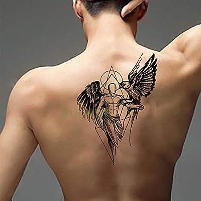 Yyoutop Etiqueta engomada del Tatuaje Temporal Impermeable ...